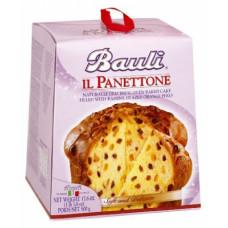 Кекс Bauli il Panettone с изюмом и глазированной апельсиновой цедрой