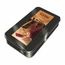 Vivani подарочный набор черного органического шоколада