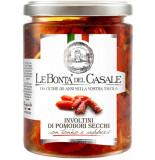 Роллы из вяленых помидоров с тунцом и каперсами Le Bonta' del Casale