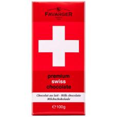 Шоколад молочный Premium Swiss Chocolate Favarger