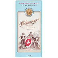 Шоколад молочный Heritage Favarger