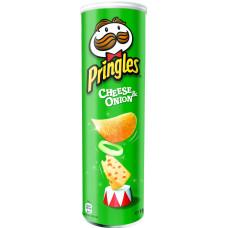 Чипсы Pringles со вкусом сыра и лука