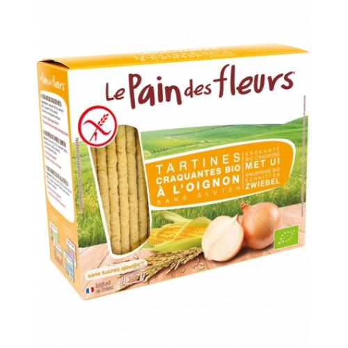 Хлебцы органические хрустящие с луком Le Pain des Fleurs Euro-Nat
