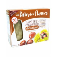 Хлебцы органические хрустящие из каштана Le Pain des Fleurs Euro-Nat