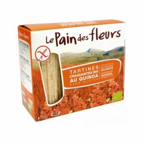 Хлебцы органические хрустящие с киноа Le Pain des Fleurs Euro-Nat
