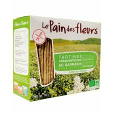 Хлебцы органические хрустящие из гречки Le Pain des Fleurs Euro-Nat